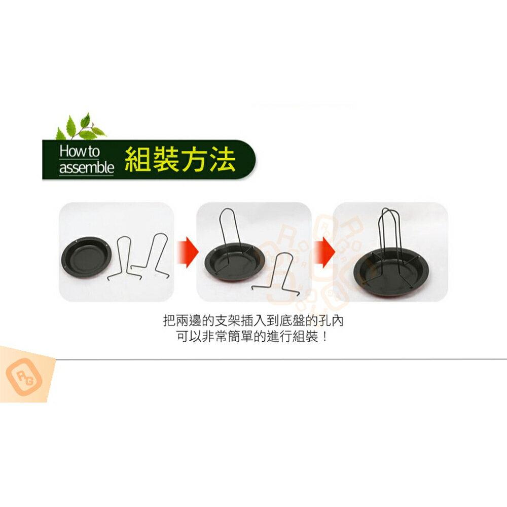 ORG《SD1621》碳鋼~ 帶底盤 烤雞架 烤雞盤 烤鴨架 烤鴨盤 露營戶外野餐 BBQ 烤架烤爐 桶仔雞架 燒烤架 8