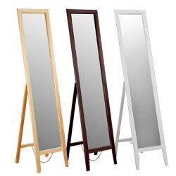 穿衣鏡/立鏡/全身鏡/連身鏡/鏡子【Yostyle】自然松木穿衣立鏡(三色可選)