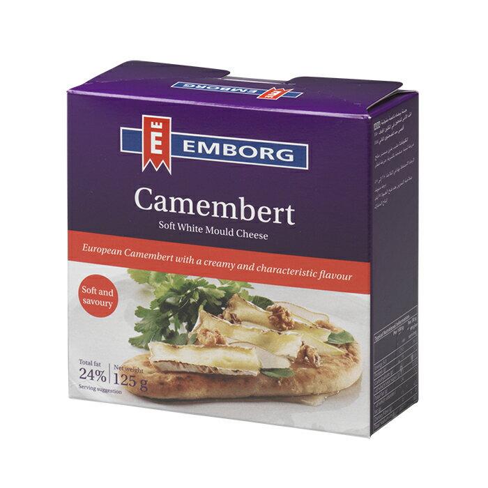 EMBORG卡門貝爾乳酪 Camembert 125g/塊