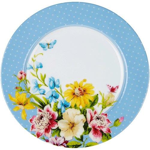 《CreativeTops》Katie淺餐盤(花園藍19cm)