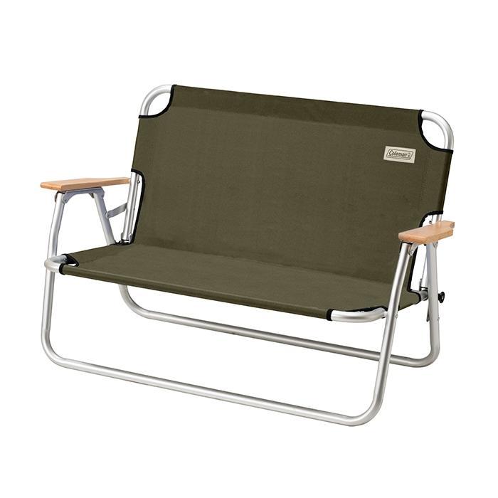 [ Coleman ] 輕鬆摺疊長椅 綠橄欖 / 公司貨 CM-33807
