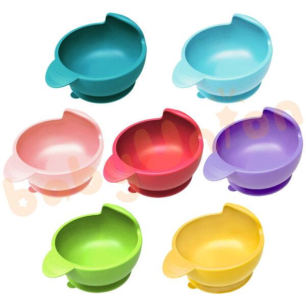 PUKU藍色企鵝-矽膠防漏魔力吸盤碗