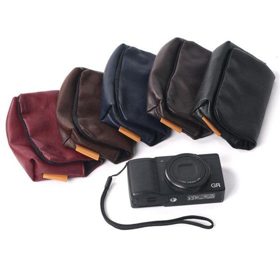 相機收納包 索尼黑卡DCS-RX100 M2 M3 M4 M5 M6相機包 佳能G7X G9X便攜收納包
