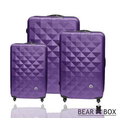 BEAR BOX晶鑽系列ABS霧面超值三件組旅行箱 / 行李箱 4