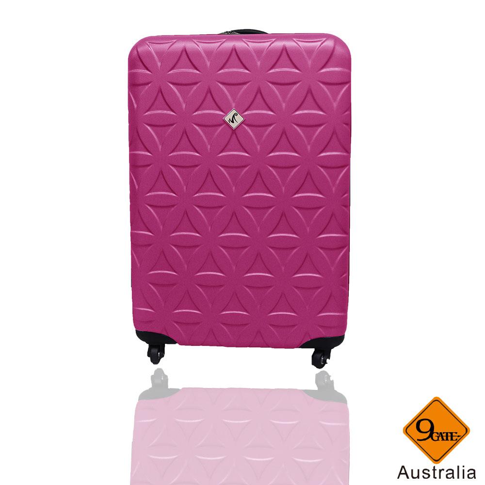Gate9花花系列ABS霧面20吋輕硬殼旅行箱 / 行李箱    聖誕交換禮物推薦 1