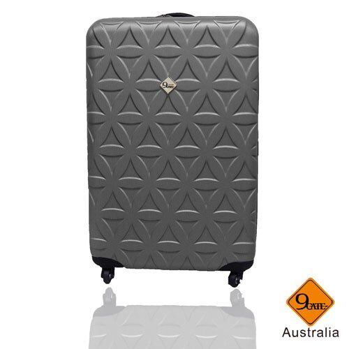 Gate9花花系列ABS霧面20吋輕硬殼旅行箱 / 行李箱    聖誕交換禮物推薦 2