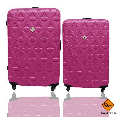 Gate9花花系列ABS霧面兩件組24吋+20吋輕硬殼旅行箱 / 行李箱 2