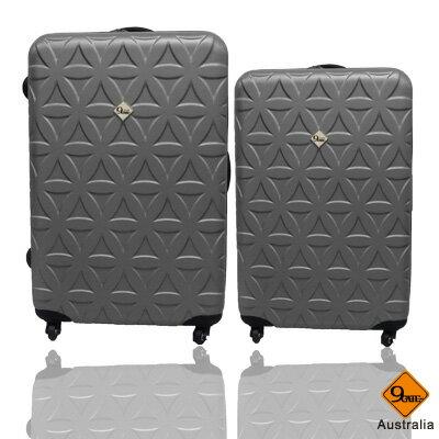 Gate9花花系列ABS霧面兩件組24吋+20吋輕硬殼旅行箱 / 行李箱 1
