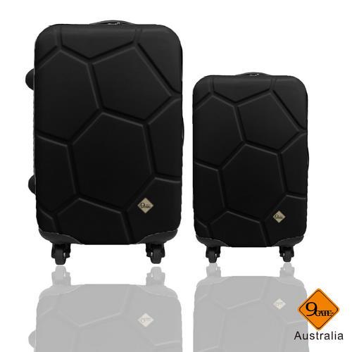 Gate9 經典世紀足球系列28吋+20吋輕硬殼旅行箱 / 行李箱 0