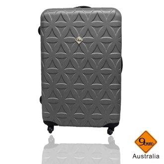 Gate9花花系列ABS霧面28吋輕硬殼旅行箱/行李箱 1