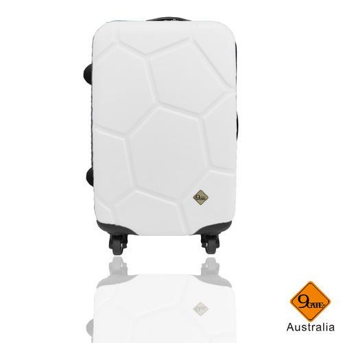 Gate9經典世紀足球系列24吋輕硬殼旅行箱行李箱