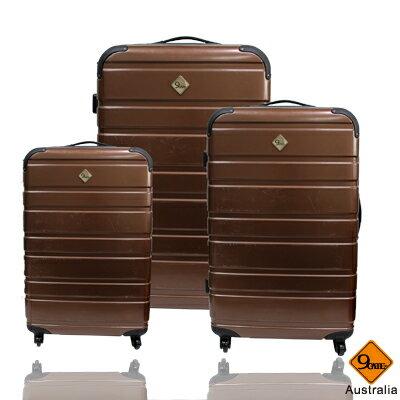 Gate9 經典橫紋系列~PC亮面輕硬殼3件組旅行箱 / 行李箱 2
