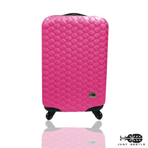 Just Beetle 編織風情系列ABS材質霧面輕硬殼20吋旅行箱 / 行李箱 0