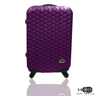 Just Beetle 編織風情系列ABS材質霧面輕硬殼28吋旅行箱/行李箱 1