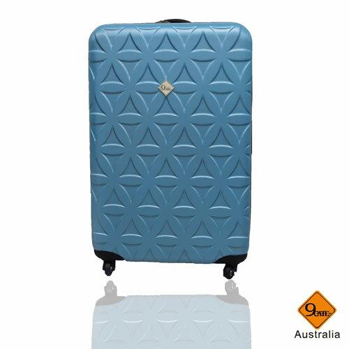 Gate9花花系列ABS霧面20吋輕硬殼旅行箱 / 行李箱 0