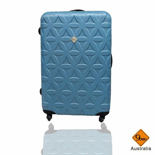 Gate9花花系列ABS霧面28吋輕硬殼旅行箱 / 行李箱 4