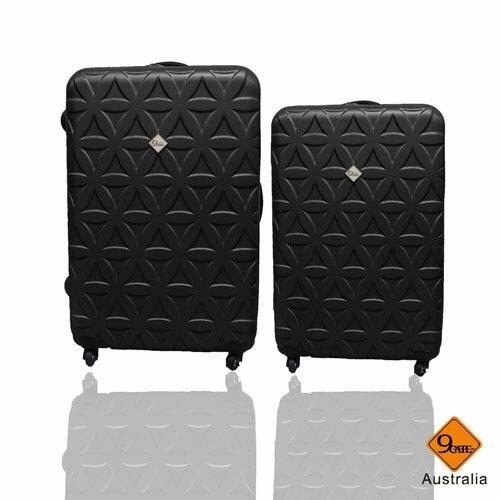 Gate9花花系列ABS霧面兩件組24吋+20吋輕硬殼旅行箱 / 行李箱 3