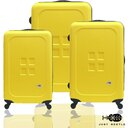 結帳現折$300✈Just Beetle魔方鈕扣ABS霧面經典三件組輕硬殼旅行箱/行李箱