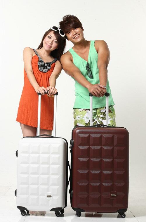 Just Beetle 趣味巧克力系列ABS輕硬殼20吋旅行箱/行李箱