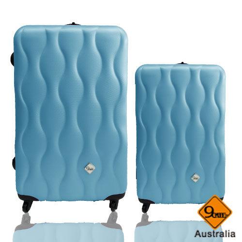 ✈✈Gate9波西米亞系列ABS霧面輕硬殼28吋+20吋旅行箱 / 行李箱 1