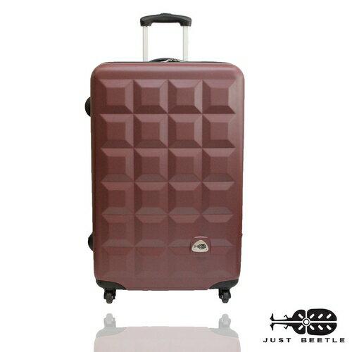 Just Beetle 趣味巧克力系列ABS輕硬殼28吋旅行箱/行李箱