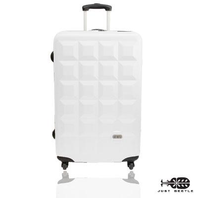 Just Beetle趣味巧克力系列ABS輕硬殼24吋旅行箱/行李箱