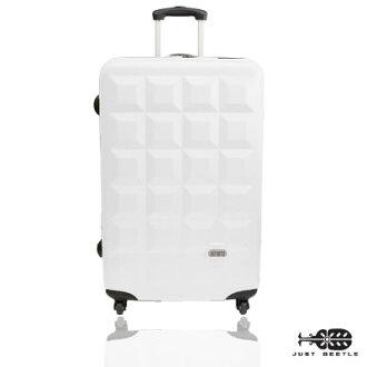 Just Beetle趣味巧克力系列ABS輕硬殼24吋旅行箱/行李箱 0