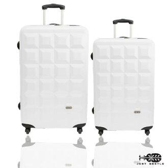 Just Beetle 趣味巧克力系列ABS輕硬殼28吋+24吋旅行箱/行李箱 1