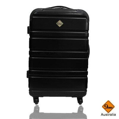 Gate9 經典橫紋系列~PC亮面輕硬殼24吋旅行箱 / 行李箱 1