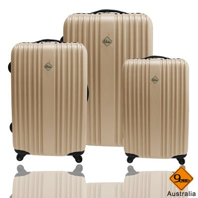 ✈Gate9五線譜系列ABS霧面三件組旅行箱 / 行李箱 1