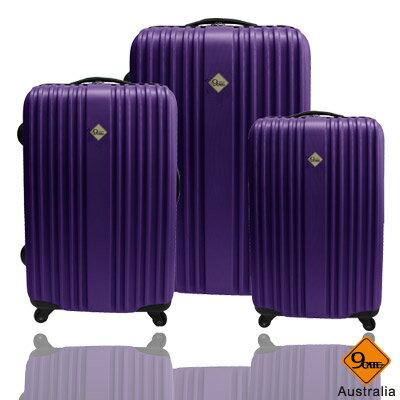 ✈Gate9五線譜系列ABS霧面三件組旅行箱 / 行李箱 0