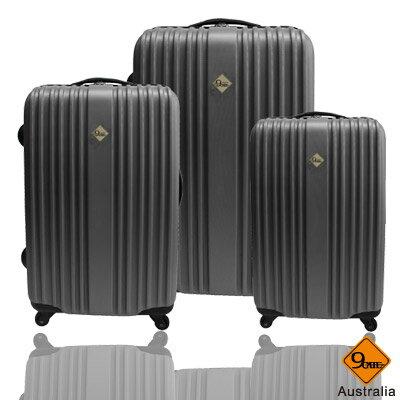 ✈Gate9五線譜系列ABS霧面三件組旅行箱 / 行李箱 2