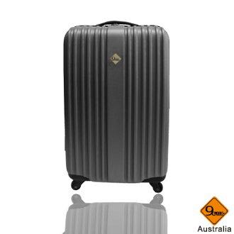 ★Gate9五線譜系列ABS材質20吋輕硬殼旅行箱/行李箱