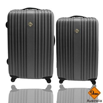 Gate9五線譜系列ABS材質超值兩件組24吋+20吋旅行箱 / 行李箱 0