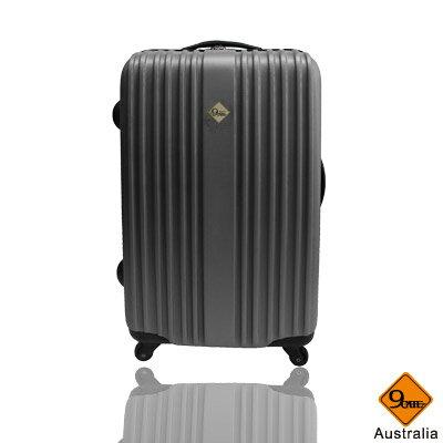 Gate9五線譜系列ABS材質雙層加大輕硬殼28吋旅行箱 / 行李箱 2