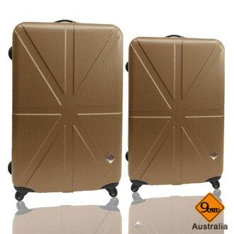 Gate9米字英倫系列兩件組28吋+24吋輕硬殼旅行箱/行李箱 1
