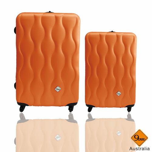 ✈✈Gate9波西米亞系列ABS霧面輕硬殼28吋+20吋旅行箱 / 行李箱 2
