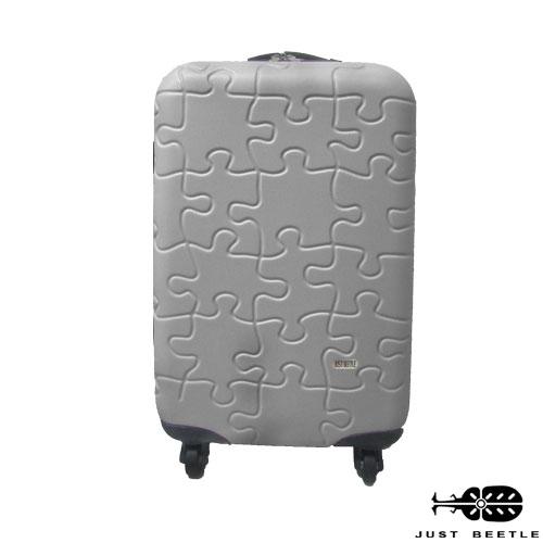 JUST BEETLE 拼圖系列ABS輕硬殼20吋旅行箱 / 行李箱 2