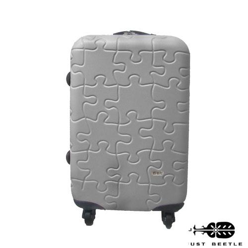 JUST BEETLE 拼圖系列ABS輕硬殼24吋旅行箱 / 行李箱 1
