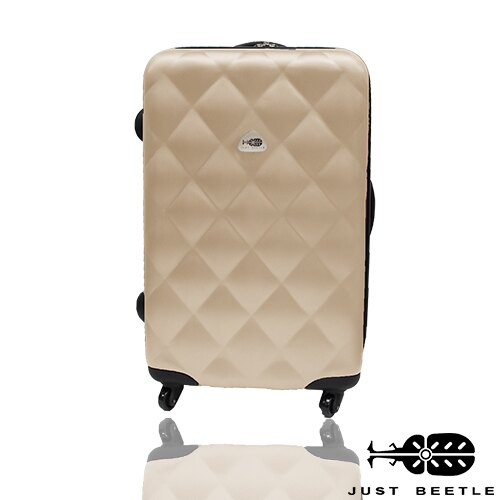 Just Beetle經典菱紋系列ABS材質24吋輕硬殼旅行箱 / 行李箱 0