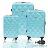 ✈Just Beetle經典菱紋系列ABS輕硬殼3件組旅行箱 / 行李箱 1