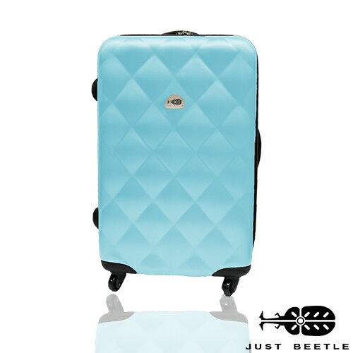 Just Beetle經典菱紋系列ABS材質24吋輕硬殼旅行箱 / 行李箱 2