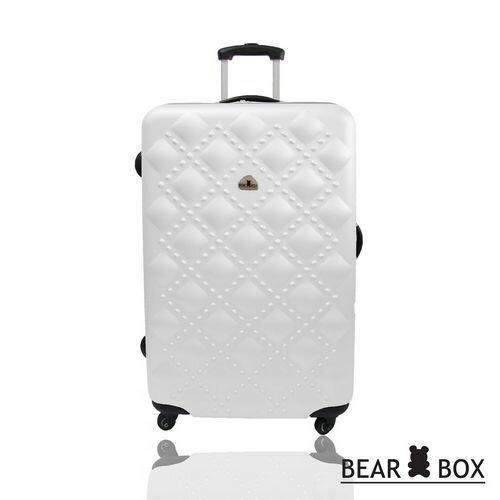 BEAR BOX時尚香奈兒系列ABS霧面24吋輕硬殼旅行箱 / 行李箱   聖誕交換禮物推薦 1