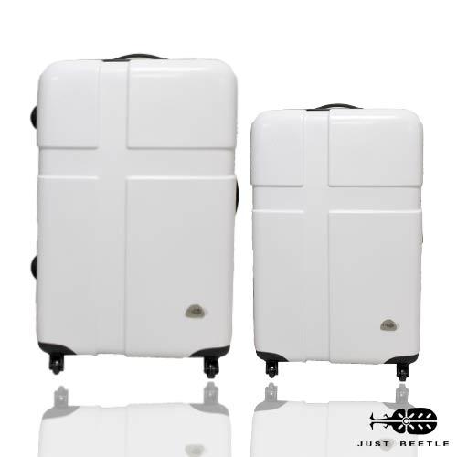 Just Beetle愛琴海系列亮麗PC材質24吋+20吋旅行箱 / 行李箱 1