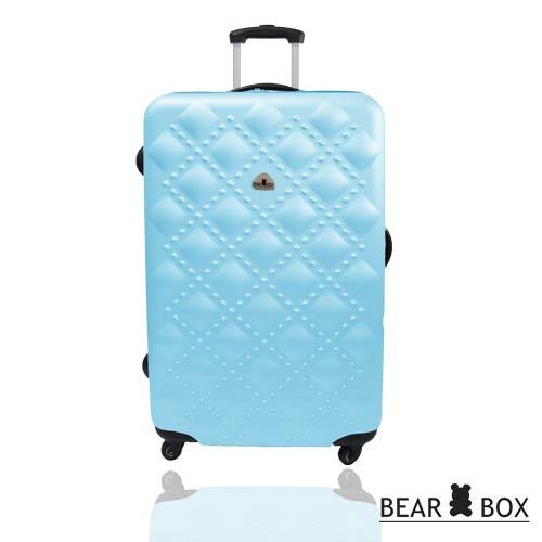 BEAR BOX時尚香奈兒系列ABS霧面24吋輕硬殼旅行箱 / 行李箱 3