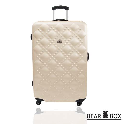BEAR BOX時尚香奈兒系列ABS霧面24吋輕硬殼旅行箱 / 行李箱 2
