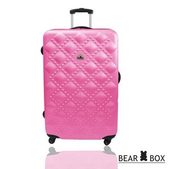 BEAR BOX 時尚香奈兒系列ABS霧面28吋輕硬殼旅行箱/行李箱