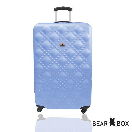 ★BEAR BOX時尚香奈兒系列ABS霧面20吋旅行箱/行李箱