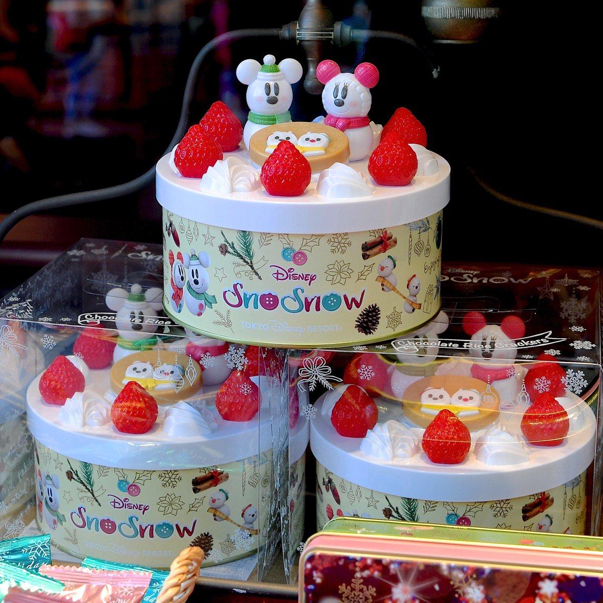 X射線【C702008】日本東京迪士尼代購-米奇SnowSnow蛋糕鐵盒巧克力餅,點心/零嘴/餅乾/糖果/韓國代購/日本糖果/零食/伴手禮/禮盒