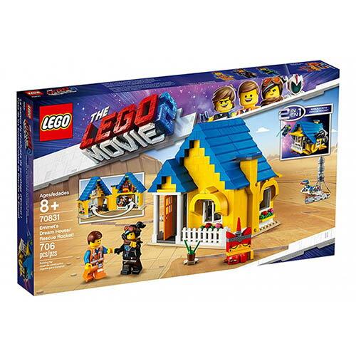 樂高LEGO 70831 The LEGO Movie 樂高電影系列 >Emmet's Dream House / Rescue Rocket! - 限時優惠好康折扣